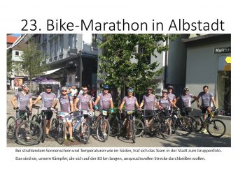 23. Bike-Marathon in Albstadt